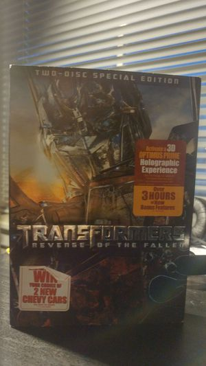 Transformers: Revenge of the Fallen. Two disc special edition. for Sale in San Francisco, CA