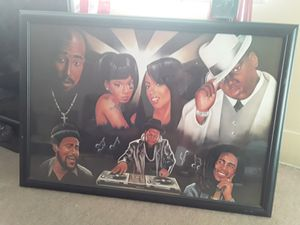 Painting 2pac & Biggie,Bob marely,Run Dmc,Marvin Gayle for Sale in Los Angeles, CA
