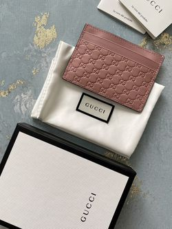 Gucci Guccisima Pink Card Case for Sale in Sunnyvale,  CA
