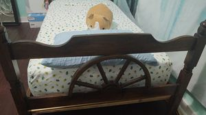 Solid Wood and lightweight twin bed frame for Sale in Houston, TX