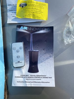 Humidifier with aroma tray for Sale in Tarpon Springs, FL