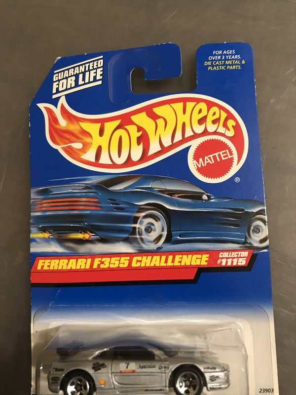 Hot Wheels Ferrari F355 Challenge