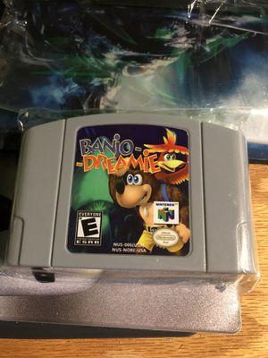 Nintendo 64 N64 Banjo-Dreamie for Sale in Goodlettsville, TN
