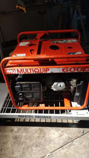 AC generator 6000w single phaze for Sale in San Francisco, CA