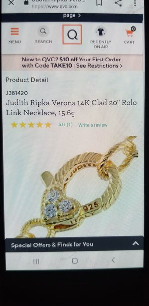 Jutdith ripka verona 925 italy silver for Sale in Los Angeles, CA