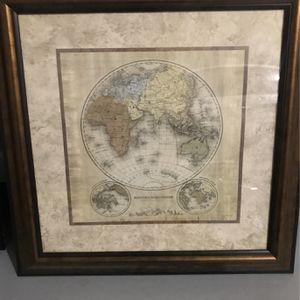 Terre Orbis Series Of The Eastern hemisphere Map for Sale in Atlanta, GA