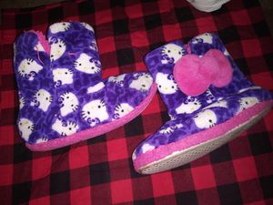 Hello Kitty Warm PJ Boots for Sale in National City, CA