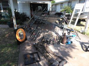 Fishing poles, ceiling fans for Sale in Abilene, TX