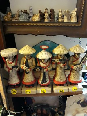 Choice of five cool Oriental statues each sold individually for $20 each for Sale in Dunedin, FL