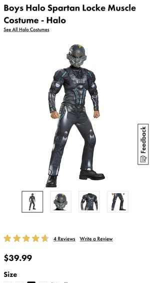 New halo costume size 10-12 asking $15 price is firm for Sale in North Las Vegas, NV