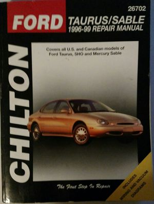 FORD TAURUS SABLE SERVICE REPAIR MANUAL for Sale in North Chesterfield, VA