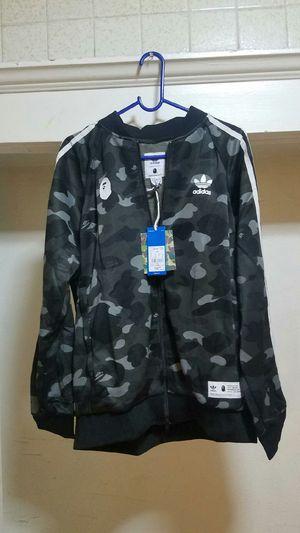 Bape/Adidas Camo Track Jacket for Sale in Los Angeles, CA