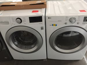 LG front load washer and electric dryer for Sale in San Luis Obispo, CA