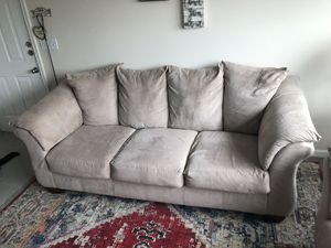 Beige sofa and loveseat for Sale in Columbia, SC