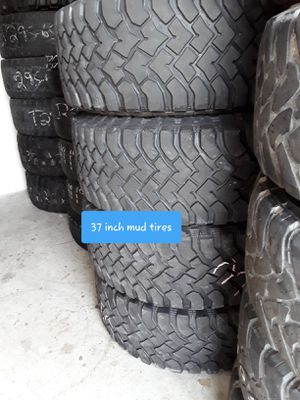 37 inch mud tires for Sale in Melbourne, FL