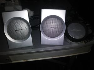 2 Bose Speakers for Sale in Dallas, TX