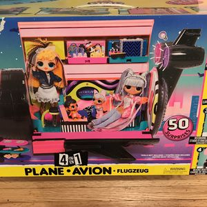 L.O.L. Surprise OMG Remix Jet Plane with 50+ Surprise Included New 4in1 By MGA for Sale in Hawthorne, CA