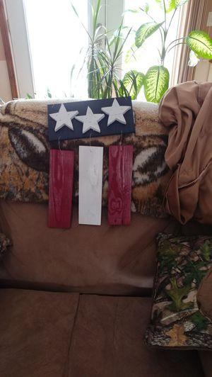 Pallet wood flag for Sale in Prattville, AL