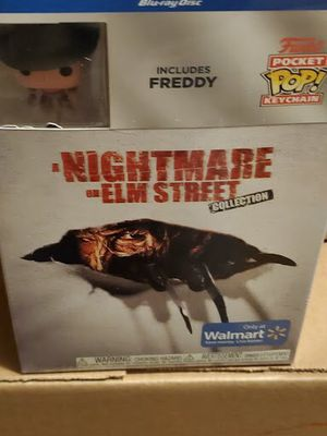 bluray a nightmare on elm street collection with freddy keychain blu ray brand new for Sale in Los Angeles, CA