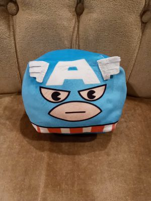 Captain America square plush toy for Sale in East Chicago, IN