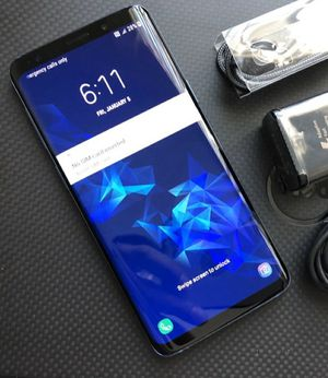 Samsung Galaxy S9: Excellent Condition , Factory unlocked. for Sale in Springfield, VA