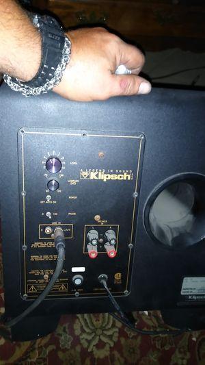 Klipsch home subwoofer for Sale in Lemon Grove, CA