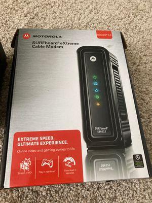 Motorola surfboard SB6121 modem for Sale in Longmont, CO
