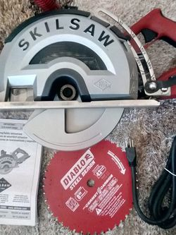 Skilsaw 8 In Outlaw Worm Drive Saw For Metal for Sale in Sloan,  NV