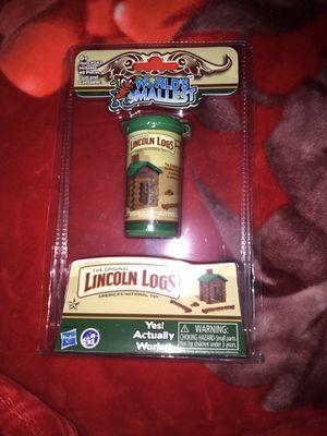 world's smallest lincoln logs for Sale in Santa Maria, CA