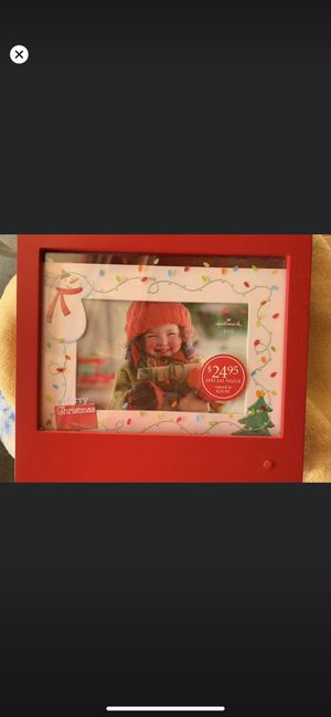 Light up Christmas picture frame for Sale in Sunnyvale, CA