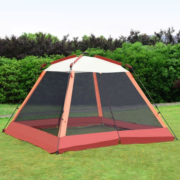 Portable Automatic Pop Up Family Tent w/ Carry Bag