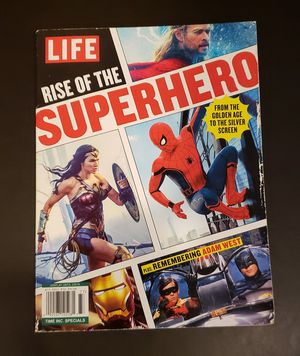 Life Magazine- Rise of the Superhero (2018) for Sale in Portland, OR