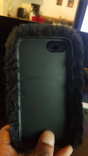 Kendall and Kylie fluffy phone case for iphone 6 for Sale in San Diego, CA