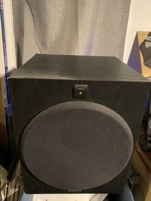 "Sony SA-W2500 10"" subwoofer for Sale in Eagle Mountain, UT"