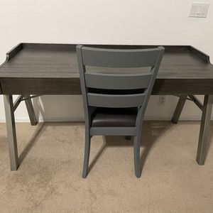 Ashley Furniture Home Office Desk & Chair for Sale in Glendale, AZ