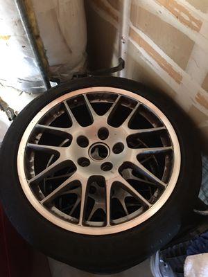 "20"" Porsche Panamera turbo rims and tires for Sale in Fresno, CA"