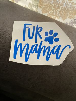 Fur mama decal for Sale in Lynchburg, VA
