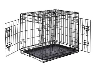 Double door crate + insert + sling carrier for Sale in San Diego, CA