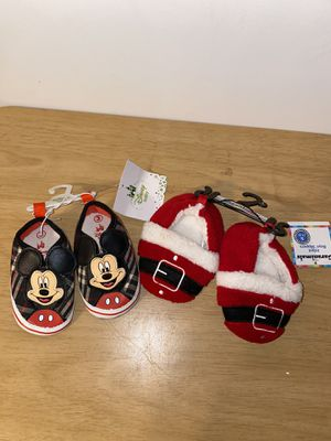 Baby shoes size 1-2 and 3 for Sale in Dinuba, CA
