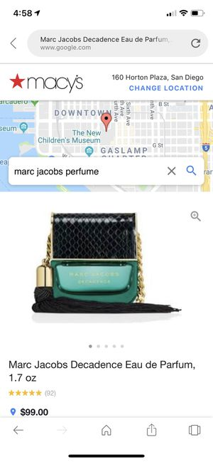 Marc Jacobs perfume for Sale in San Diego, CA
