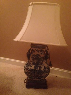 Two porcelain lamps for Sale in Bristow, VA