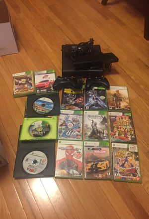 Xbox 360 + (games & kinect) for Sale in Boston, MA
