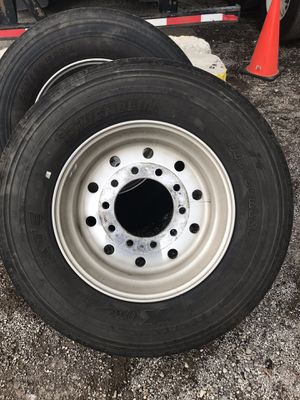 Set of 4Michelin XONE .Super Singles Tires for Sale in IND HEAD PARK, IL