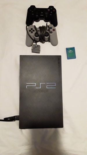 Playstation 2,w/2controllers,and 8mb card for Sale in Biloxi, MS