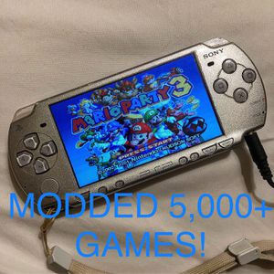 Modded PSP with thousands of retro games PSP, PS1, N64, MAME ARCADE for Sale in Yuma, AZ