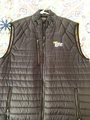 Miller Lite puffer vest for Sale in Apex, NC