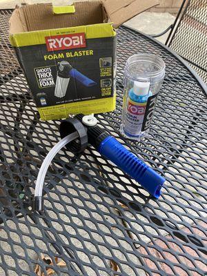 RYOBI foam blaster for Sale in Los Angeles, CA