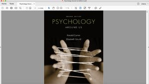 Psychology Around Us 2nd Edition for Sale in El Monte, CA
