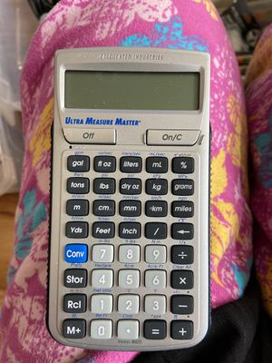 Calculated industries Ultra Measure Master calculator for Sale in Seattle, WA