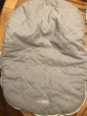 JJ cole car seat cover for Sale in Pine River, MN